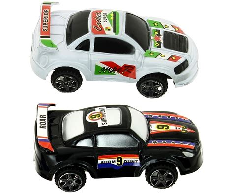 voiture de set jouet enfant coffret tube 6 petite voiture course