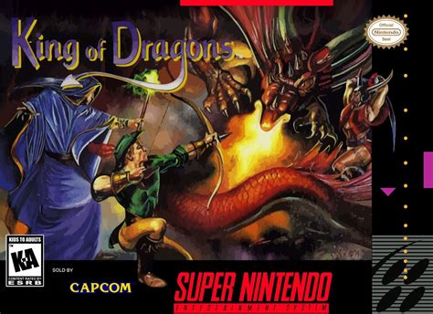 King Of The king of the dragons snes nintendo
