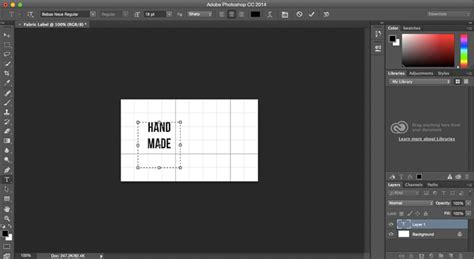 design label with photoshop custom fabric labels tutorial spoonflower blog
