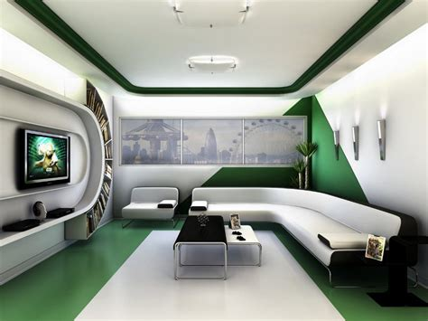 futuristic home interior design room design ideas