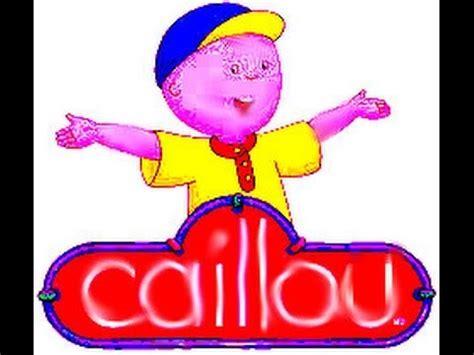 theme song caillou caillou theme song gmajor youtube