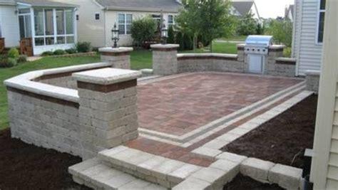 Patio Pal Brick Patio System by Brick Pavers On Unibase System Lifetime Warranty