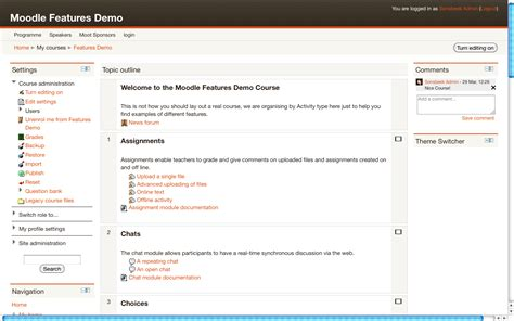 moodle theme leatherbound some tips on moodle theme development basbrands nl