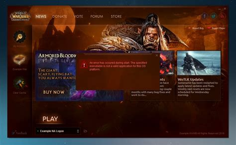 Wow Detox Kiev by World Of Warcraft Custom Launcher