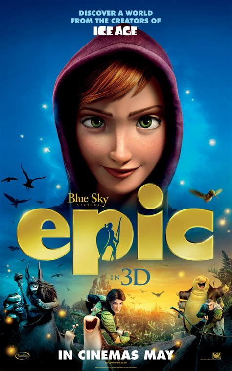 epic film blue sky 3 new posters for the animated movie epic teaser trailer