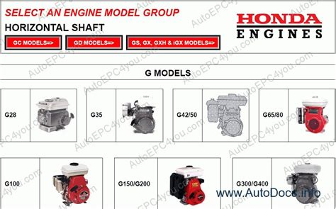 honda engine workshop service manuals repair manual order