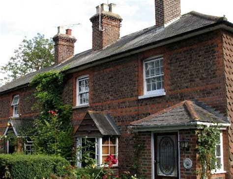Cottages On Providence by P S Ramblings Through Charlwood Pathways And