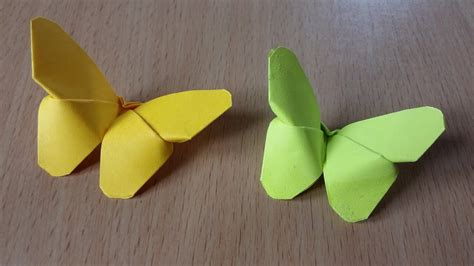 origami butterflys with post it notes