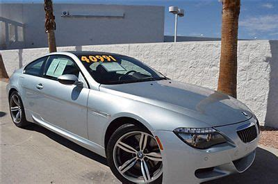 manual cars for sale 2008 bmw 6 series auto manual sell used 2008 bmw m6 2dr cpe manual transmission in las vegas nevada united states