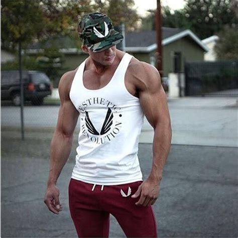 Singlet Fitness Kode 47 eehcm 2016 singlets mens tank tops shirt bodybuilding