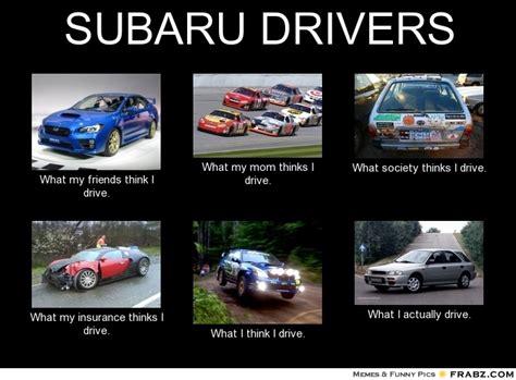 subaru meme subaru drivers