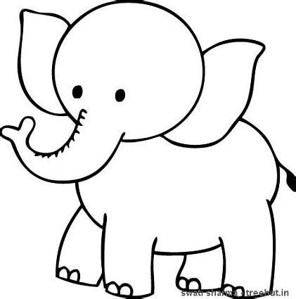 coloring pages of cartoon elephants elephant coloring pages clipart panda free clipart images