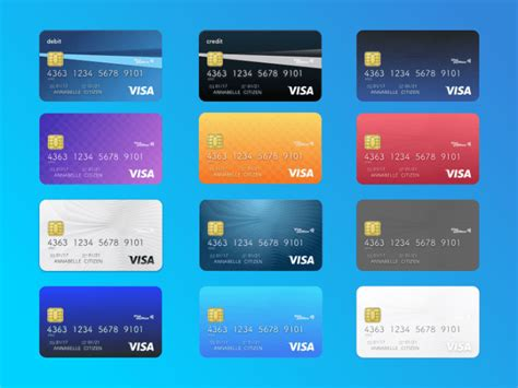 Design Credit Card Template by 12 Free Credit Card And Debit Card Designs Free