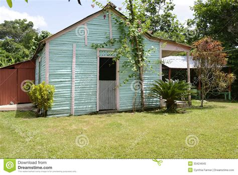 typical family home in the republic stock image
