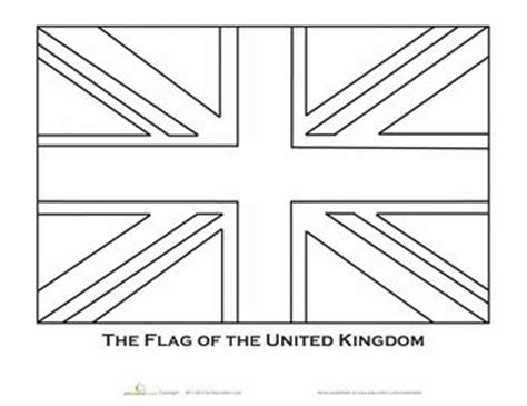 british flag coloring page girl scouts pinterest
