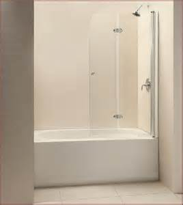 Tub Doors Glass Frameless Frameless Bathtub Doors Home Design Ideas