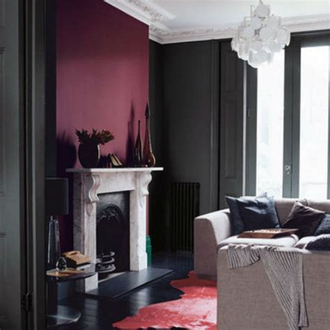 maroon wall paint color inspiration burgundy
