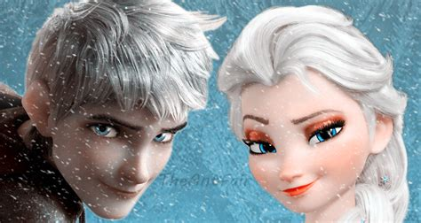 imagenes jack frost y elsa jack frost and elsa by antfair on deviantart