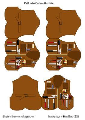 Handyman Gift Card - handyman vest gift cards cup544324 2038 craftsuprint