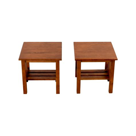 craftsman style end tables wood end tables 25 best refinished end tables ideas on