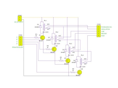 wiring diagram for a pedestal fan wiring diagram with