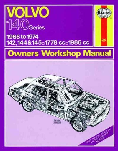 mechanics indoors and out classic reprint books volvo 142 144 145 1966 1974 haynes service repair manual