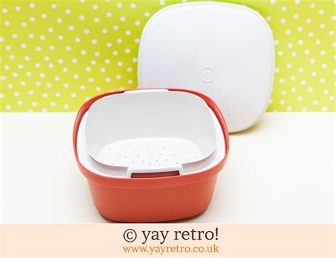 Rice Cooker Tupperware vintage tupperware rice cooker or storage container vintage shop retro china glassware