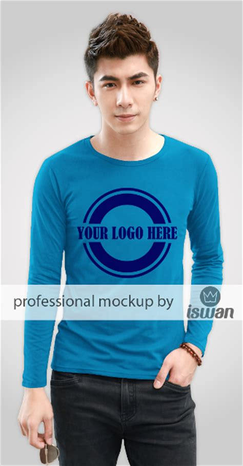 free sleeves t shirts mock up psd cdr templates bull