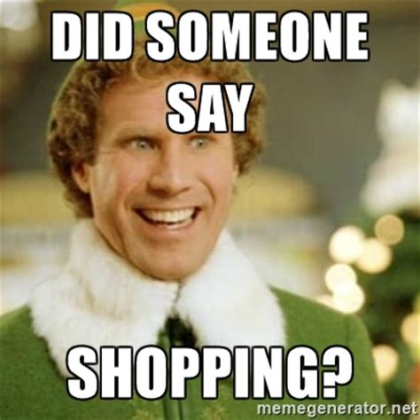 Shopping Meme - no time to shop for secret santa gifts 13 awesome last