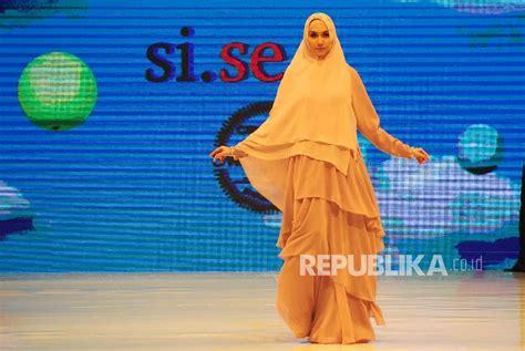 Khimar Sisesa Terbaru cantiknya khimar modis rancangan si se sa republika