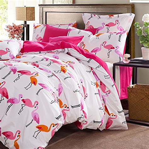 Bed Cover Set Pink Abu Uk 120x200 Fadfay Modern Flamingo Bedding Sets