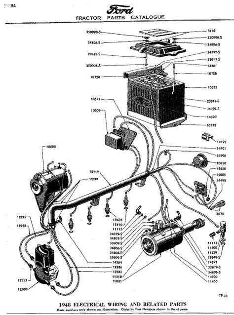 8n Ford Tractor Parts Diagram Automotive Parts Diagram