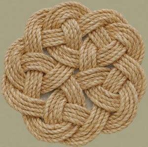 Macrame Flat Knot -