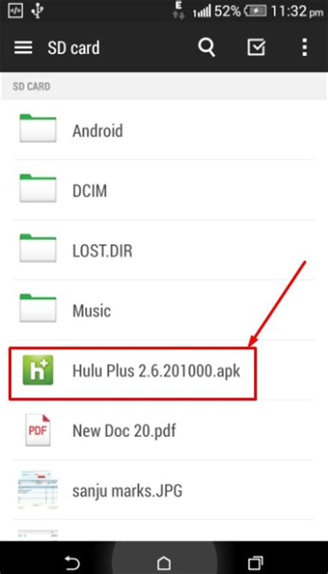 hulu apk hulu plus app apk for android v 2 17 2