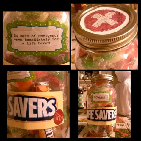 gift for nurse appreciation crafts pinterest jars