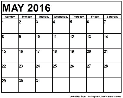 printable 3 month calendar march april may 2016 may 2016 printable calendar