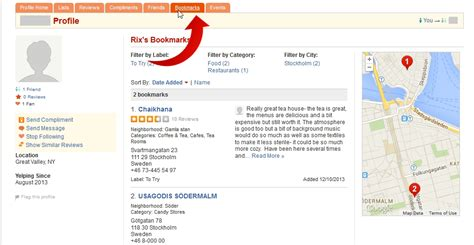 Find On Yelp How To Find Your Yelp Friends Bookmarks On Yelp 10 Steps