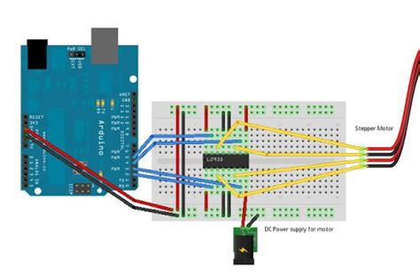 ld control  wire stepper motor