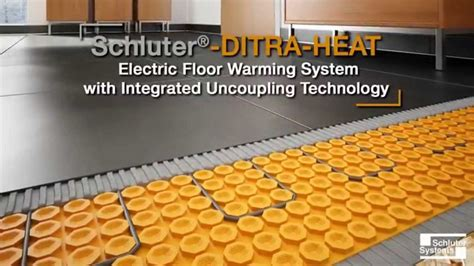 Ditra Floor Heat Reviews - ditra heated floor installation taraba home review