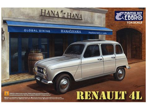 renault japan 1 24 renault 4l by ebbro hobbylink japan