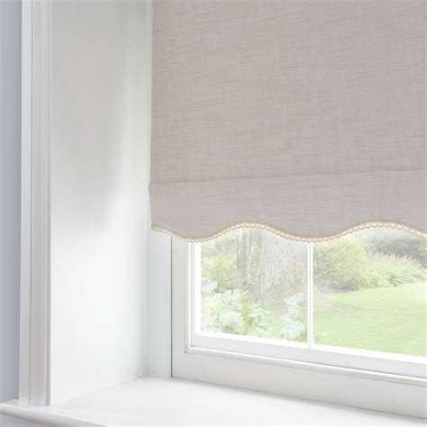 lace trim blackout roller blind dunelm window treatments for van horn bedrooms pinterest