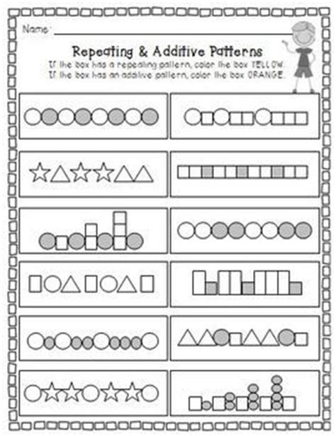 repeating patterns year 1 interactive 1000 images about matematyka0 rytmy on pinterest
