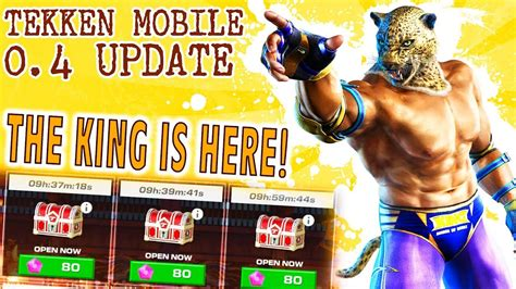 tekken mobile apk tekken ios android 0 4 update we got king awesome new stuff and bug fixes new apk