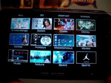 themes psp slim how to put themes on your psp doovi