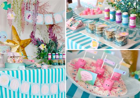little decorations little mermaid party ideas kara s party ideas