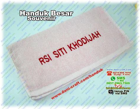 Handuk Promosi souvenir handuk besar bordir nama harga murah souvenir pernikahan