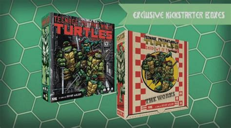 Tmnt Shadow Of The Past Boardgame new tmnt board from idw gets kickstarter caign