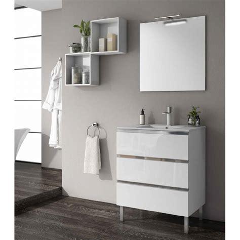 meuble de salle de bain sur pieds samoa  tiroirs robinetco