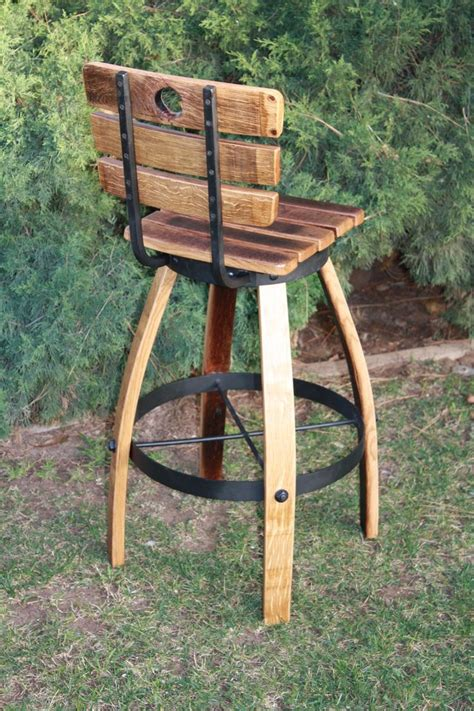 Wine Barrel Stools With Back by 17 Best Images About Bar Stools On Bar Stools