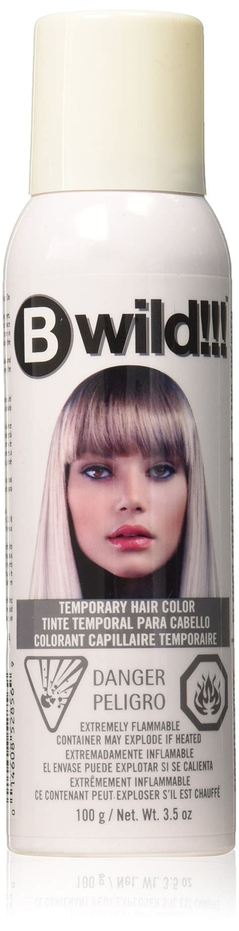 white hair color spray spray on wash out white hair color temporary